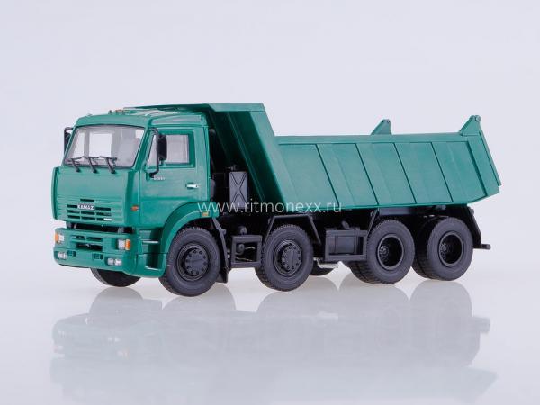 КАМАЗ-6540 (ПАО КАМАЗ) [2011г., зеленый, 1:43]