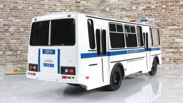 ПАЗ-4234 (ОМОН) (Vector-Models) [2003г., белый/синий, 1:43]