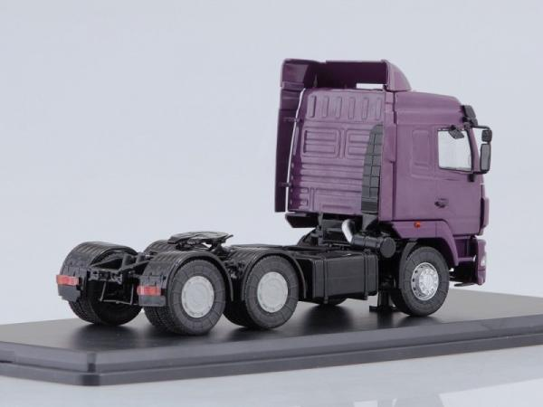 МАЗ-6430 седельный тягач (рестайлинг) (Start Scale Models (SSM)) [2000г., фиолетовый, 1:43]