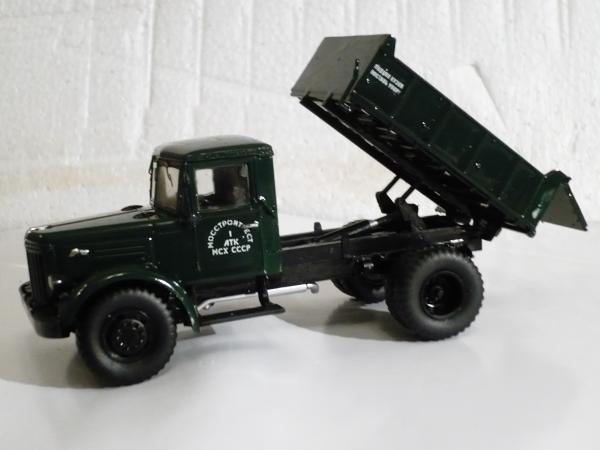 МАЗ-205 (Автомобиль в деталях, КИТ) [1947г., зелёный, 1:43]