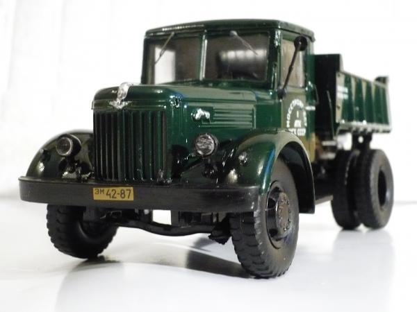 МАЗ-205 (Кит АВД, сборка Michalych) [1947г., зелёный, 1:43]