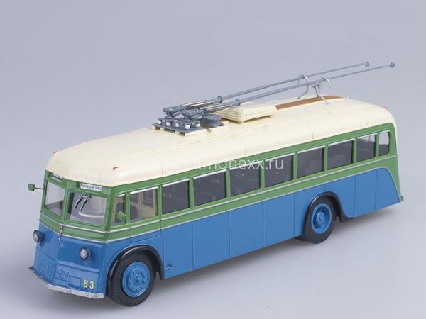 ЯТБ-2 (Vector-Models) [1937г., белый/зеленый/синий, 1:43]