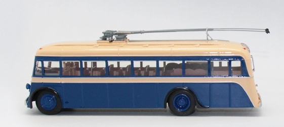 ЯТБ-4 (Vector-Models) [1938г., бежевый/синий, 1:43]