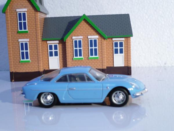 Renault ALPINE A110 (Eligor) [1963г., голубой, 1:43]
