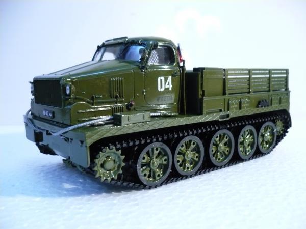 АТ-Т( артиллерийский тягач тяжелый) (AVD models) [хаки, 1:43]