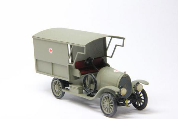 Руссо-Балт Е15-35 Санитарный (Студия МАЛ / Lermont) [1914г., серый, 1:43]