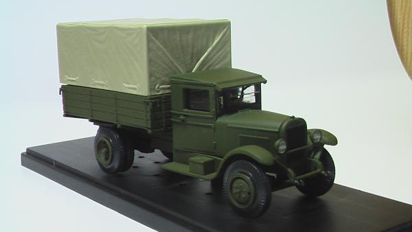 ЗИС 5 (MiniClassic) [1933г., Зеленый, 1:43]