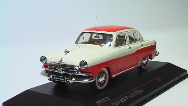 ГАЗ-М21Г (IST Models) [1956г., Красно-Бежывый, 1:43]