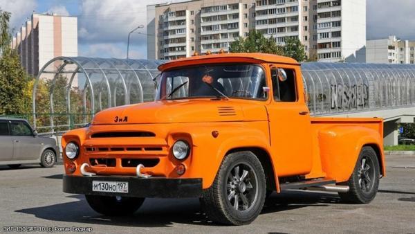 ЗИЛ-130 ход рот (Michalych) [1962г., оранжевый, 1:43]