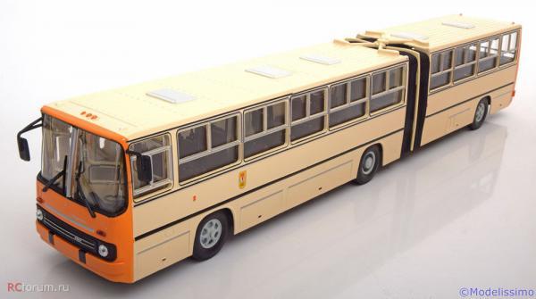 Ikarus-280.33 Berliner (PREMIUM CLASSIXXS) [1990г., бежевый/оранжевый, 1:43]