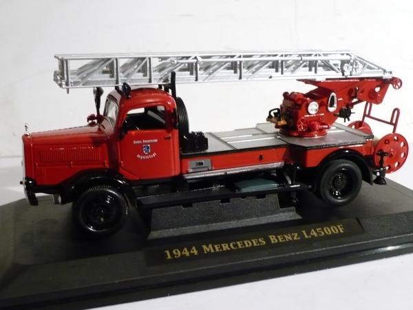 Mercedes Benz L 4500F (Signature) [1944г., красный, 1:43]