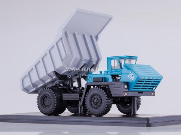 БЕЛАЗ-540А (Start Scale Models (SSM)) [1967г., серый/синий/черный, 1:43]