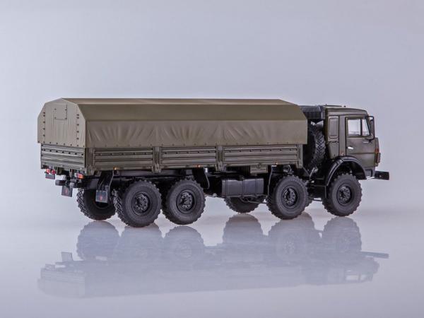 КАМАЗ-6350 Мустанг 8x8 (ПАО КАМАЗ) [1998г., зеленый, 1:43]