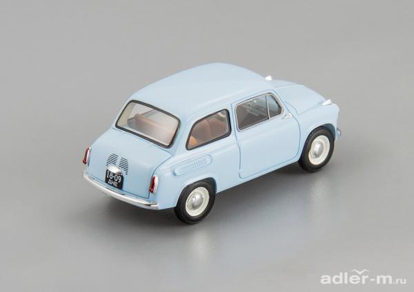 ЗАЗ-965 запорожец (DiP Models) [1960г., голубой, 1:43]