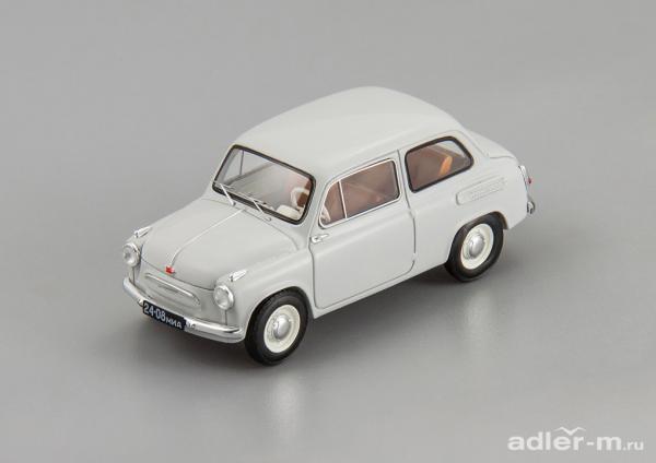 ЗАЗ-965 запорожец (DiP Models) [1960г., серый, 1:43]