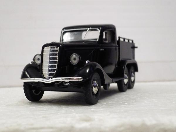 Концепт ГАЗ-М-25 пикап (Michalych) [1938г., черный, 1:43]
