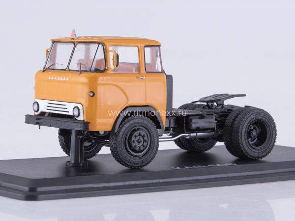 "КАЗ-608"" Колхида"" седельный тягач (Start Scale Models (SSM)) [1966г., охра/белый, 1:43]"