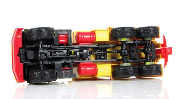 КрАЗ-260 БРО-200 (Наш Автопром) [1989г., желтый, красный, 1:43]