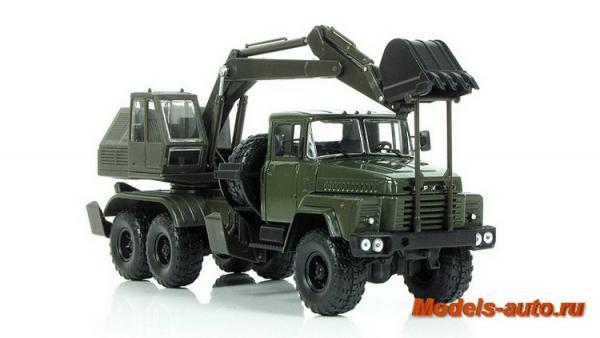 КрАЗ-260 ЭОВ-4422 (Наш Автопром) [1986г., хаки, 1:43]