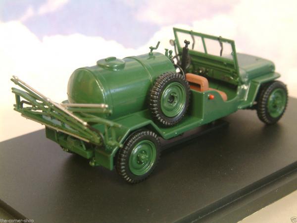 Jeep agricole (Bu Universal Hobbies, КНР) [1962г., зелёный, 1:43]