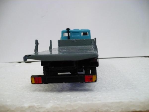 КАМАЗ-5325 без спальника (доработан) [1988г., голубой, 1:43]