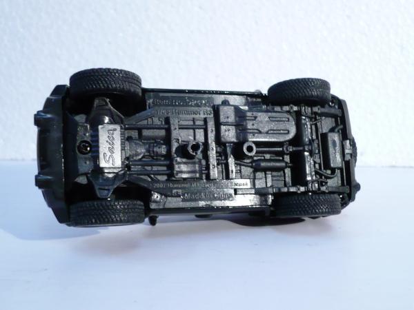 Hummer H3 (Saico) [2005г., черный, 1:43]