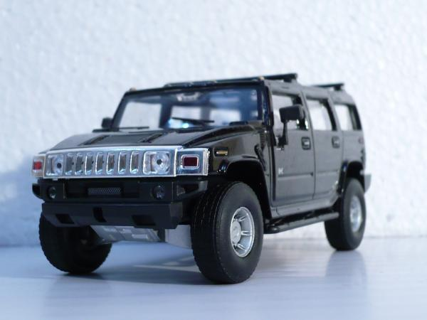 Hummer H2 (Cararama) [2002г., черный, 1:43]