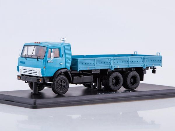 КАМАЗ-53212 (Start Scale Models (SSM)) [1978г., голубой, 1:43]