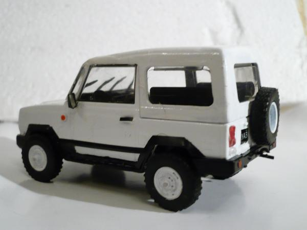 УАЗ-3171Д (конверсия АЛ) [1985г., белый, 1:43]