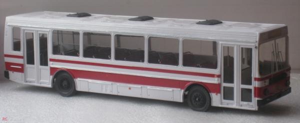 ЛиАЗ-52565 пригородный (ФиНоКо) [1988г., белый.красный, 1:43]
