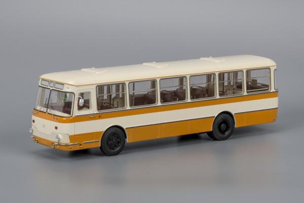 Лиаз-677М (Classicbus) [1978г., ббежевый.жёлтый, 1:43]