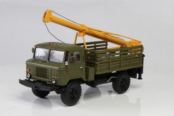Горький-66 буровая установка (Мастер Скаляров) [1966г., зеленый, 1:43]