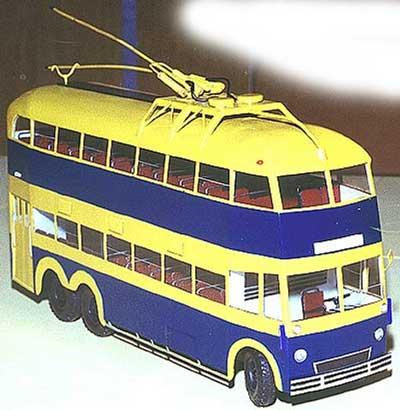 ЯТБ-3 (индивидуальный мастер) [1938г., желтый/синий, 1:43]