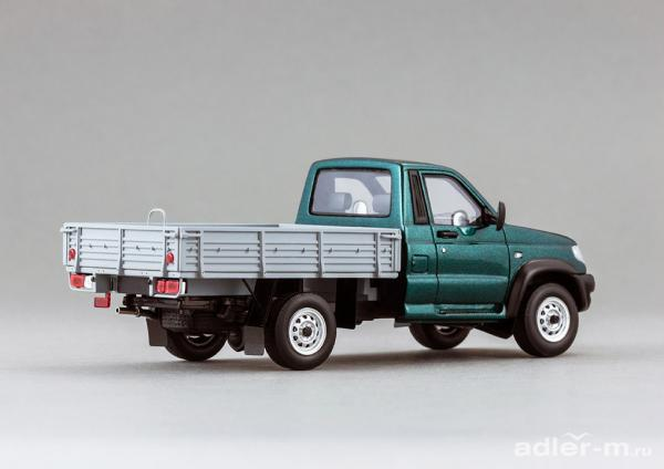 УАЗ-23602 Cargo Patriot (DiP Models) [2008г., зеленый, 1:43]