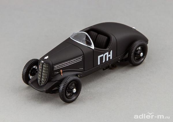 ГЛ-1 (Гоночная Липгарта 1) (DiP Models) [1938г., черный, 1:43]