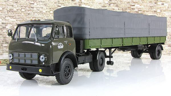 МАЗ-504В-9380 (Наш Автопром) [1977г., зеленый, 1:43]