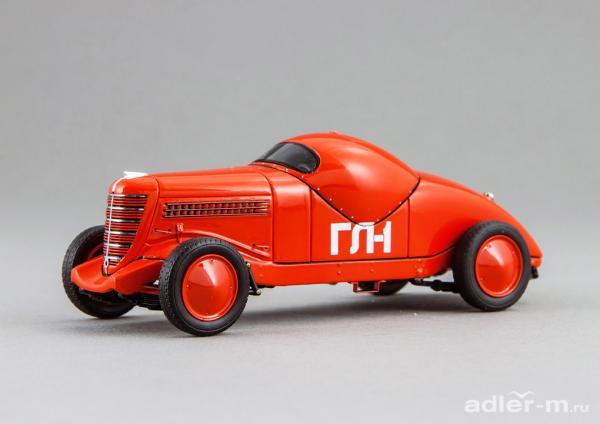 ГЛ-1 (Гоночная Липгарта 1) (DiP Models) [1940г., красный, 1:43]