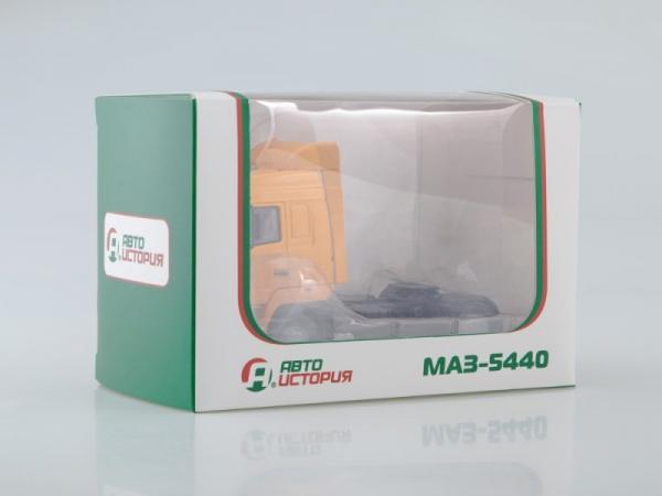 МАЗ-5440 (Автоистория (АИСТ)) [1996г., оранжевый, 1:43]