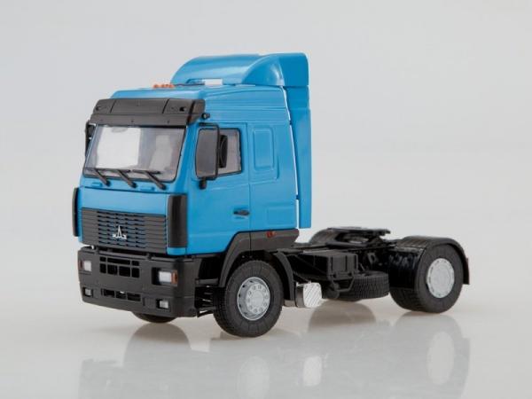 МАЗ-5440 (Автоистория (АИСТ)) [1996г., синий, 1:43]
