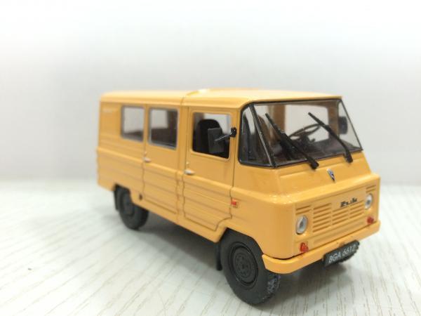 ZUK A-07 (DeAgostini (Автолегенды СССР)) [1970г., желтый, 1:43]