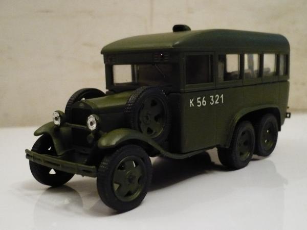 ГАЗ-05-193 (Michalych) [1936г., хаки, 1:43]