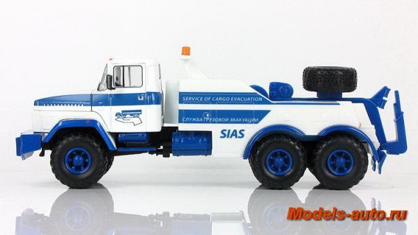 КрАЗ-260  БРО-200 (Наш Автопром) [1989г., белый с синим, 1:43]