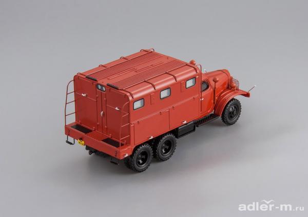 ЗИС-151 ПРМ-43 (DiP Models) [1956г., красный, 1:43]