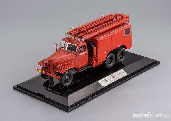 ЗИС-151 ПМЗ-16 (DiP Models) [1955г., красный, 1:43]