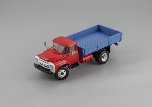 ЗИЛ-138 Автоэкспорт (DiP Models) [1977г., красный/синий, 1:43]