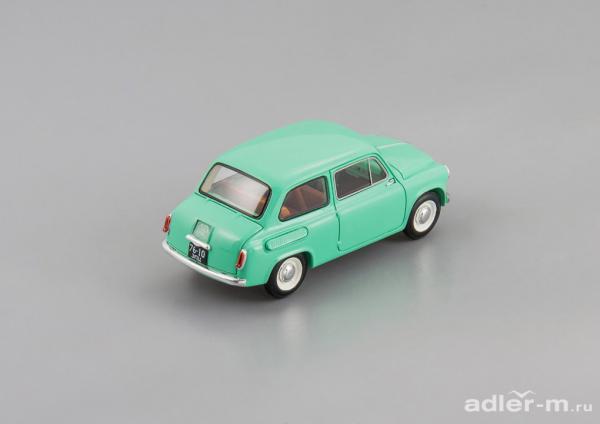 ЗАЗ-965 (DiP Models) [1962г., бирюзовый, 1:43]