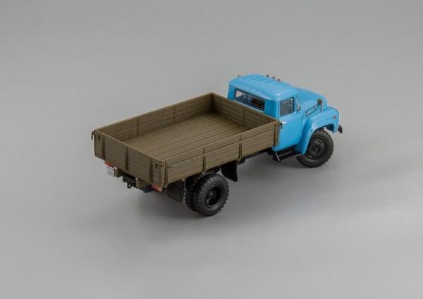 ЗИЛ-431410 (DiP Models) [1990г., голубой/коричневый, 1:43]
