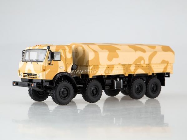 КАМАЗ-6350 Мустанг (Start Scale Models (SSM)) [2000г., камуфляж Пустынный, 1:43]