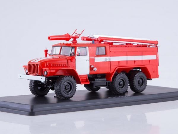 Урал 43202 (АЦ-40 ) ПМ-102Б (Start Scale Models (SSM)) [1977г., красный/белый, 1:43]