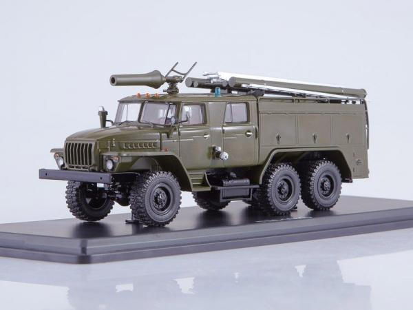 Урал 43202 (АЦ-40 ) ПМ-102Б (Start Scale Models (SSM)) [1977г., хаки, 1:43]
